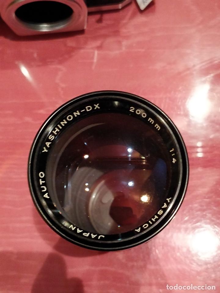 Cámara de fotos: Camara Reflex Yashica, con objetivo Auto Yashinon DX 1,4 200mm. - Foto 15 - 37121992