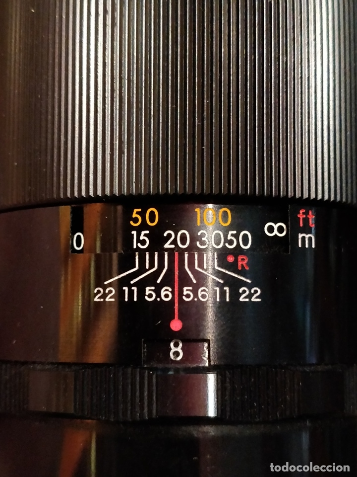 Cámara de fotos: Camara Reflex Yashica, con objetivo Auto Yashinon DX 1,4 200mm. - Foto 17 - 37121992