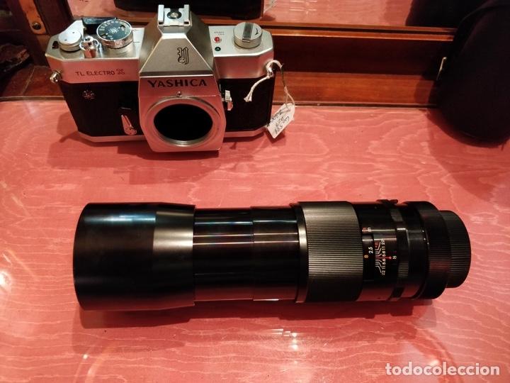 Cámara de fotos: Camara Reflex Yashica, con objetivo Auto Yashinon DX 1,4 200mm. - Foto 18 - 37121992