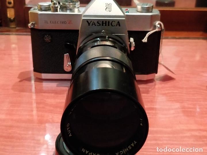 Cámara de fotos: Camara Reflex Yashica, con objetivo Auto Yashinon DX 1,4 200mm. - Foto 22 - 37121992