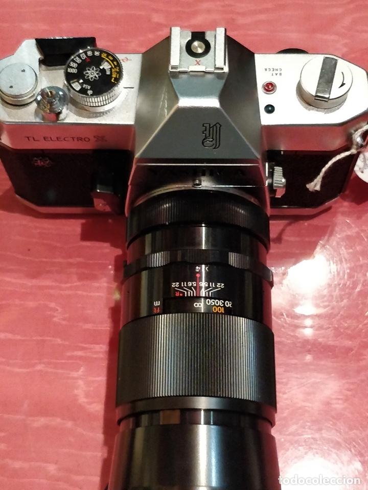 Cámara de fotos: Camara Reflex Yashica, con objetivo Auto Yashinon DX 1,4 200mm. - Foto 23 - 37121992