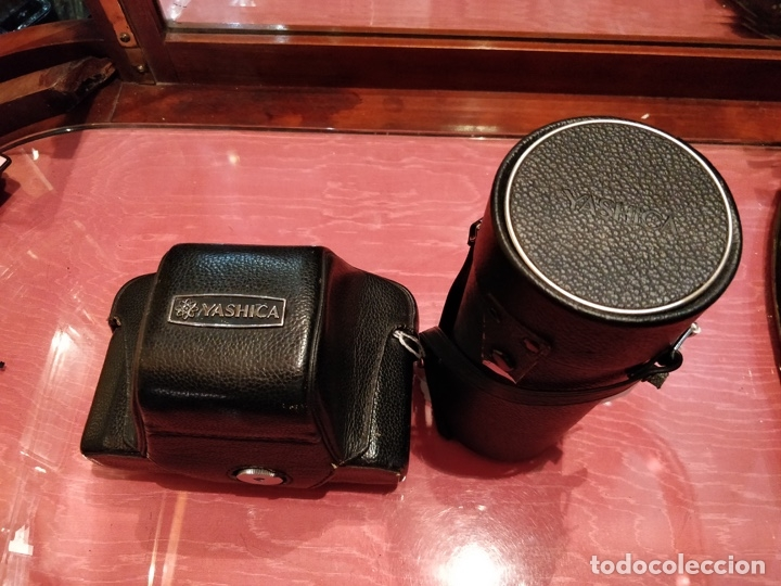 Cámara de fotos: Camara Reflex Yashica, con objetivo Auto Yashinon DX 1,4 200mm. - Foto 2 - 37121992