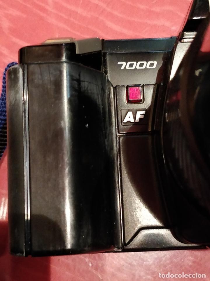 Cámara de fotos: Cámara fotográfica Minolta 7000. Con funda protectora desgastada. - Foto 5 - 40353641