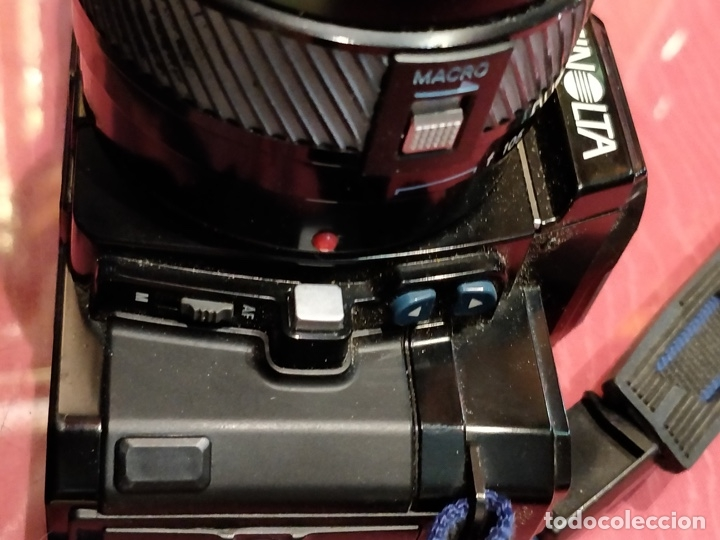 Cámara de fotos: Cámara fotográfica Minolta 7000. Con funda protectora desgastada. - Foto 6 - 40353641