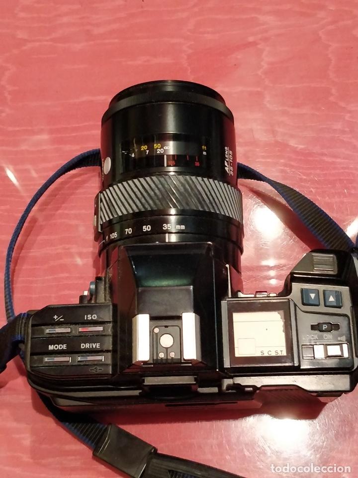 Cámara de fotos: Cámara fotográfica Minolta 7000. Con funda protectora desgastada. - Foto 7 - 40353641