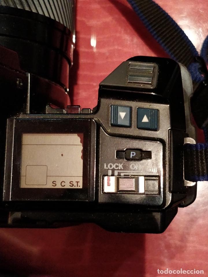Cámara de fotos: Cámara fotográfica Minolta 7000. Con funda protectora desgastada. - Foto 8 - 40353641