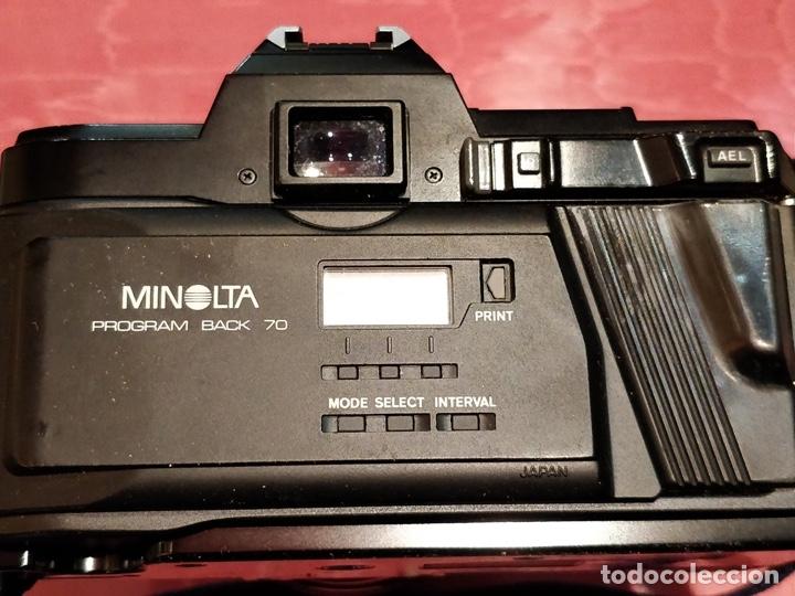 Cámara de fotos: Cámara fotográfica Minolta 7000. Con funda protectora desgastada. - Foto 10 - 40353641