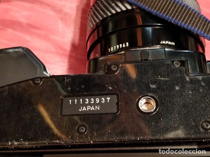 Cámara de fotos: Cámara fotográfica Minolta 7000. Con funda protectora desgastada. - Foto 11 - 40353641