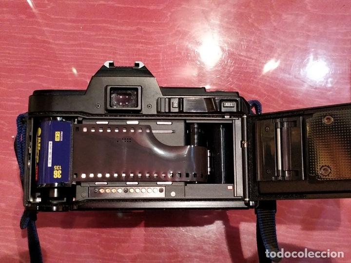 Cámara de fotos: Cámara fotográfica Minolta 7000. Con funda protectora desgastada. - Foto 12 - 40353641