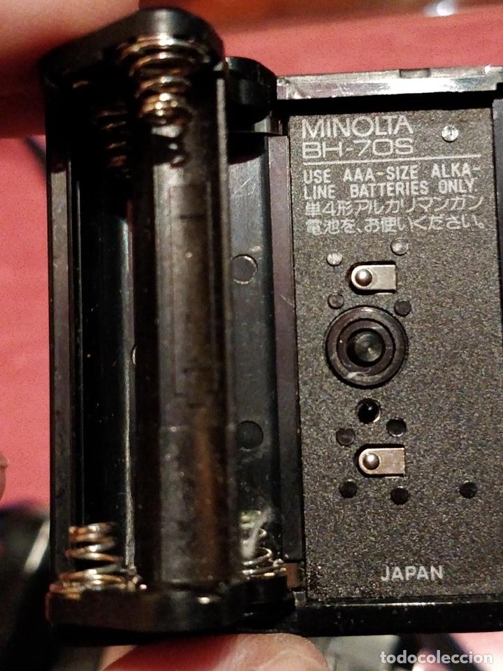 Cámara de fotos: Cámara fotográfica Minolta 7000. Con funda protectora desgastada. - Foto 13 - 40353641