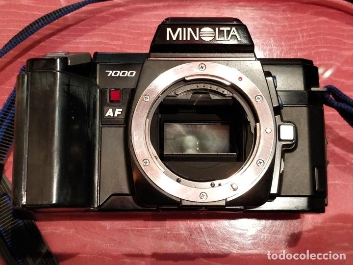 Cámara de fotos: Cámara fotográfica Minolta 7000. Con funda protectora desgastada. - Foto 14 - 40353641