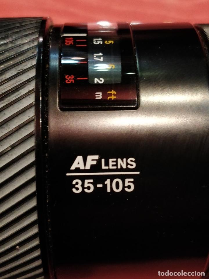 Cámara de fotos: Cámara fotográfica Minolta 7000. Con funda protectora desgastada. - Foto 16 - 40353641