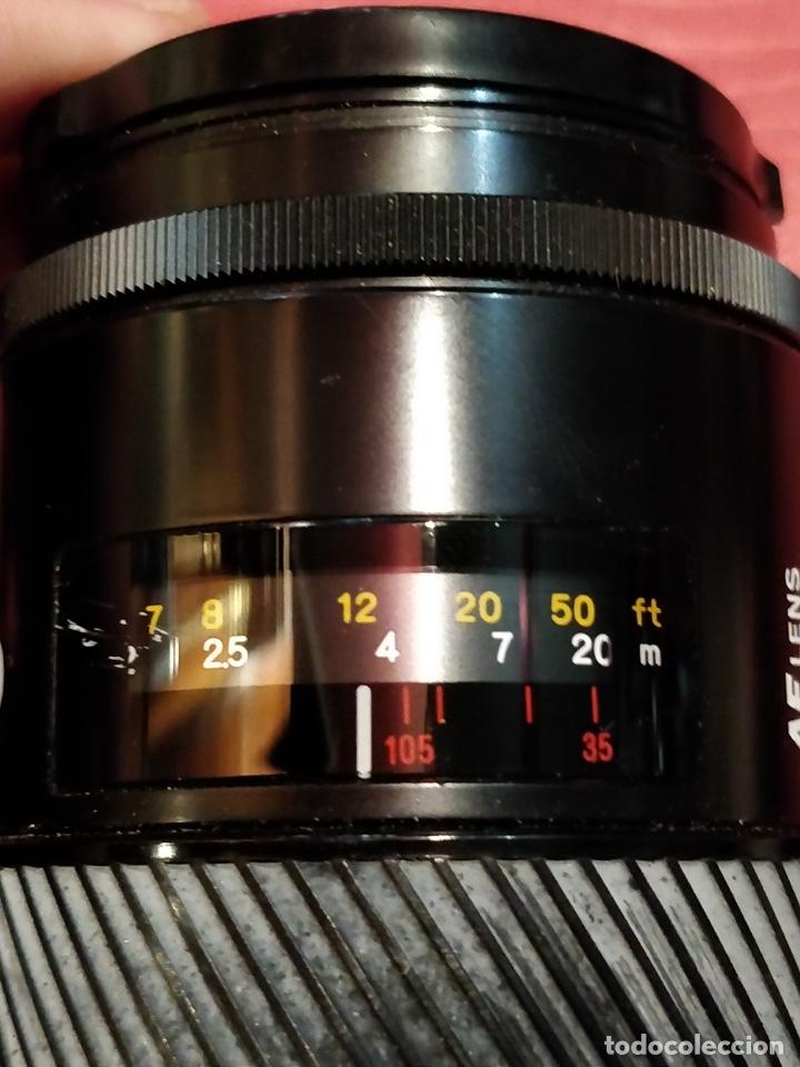 Cámara de fotos: Cámara fotográfica Minolta 7000. Con funda protectora desgastada. - Foto 17 - 40353641