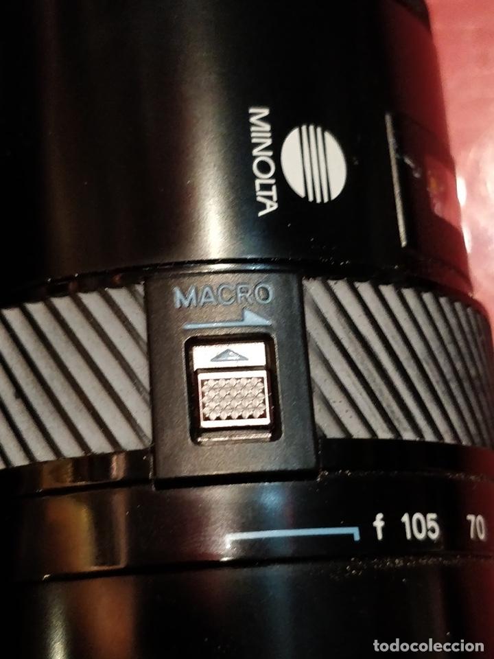 Cámara de fotos: Cámara fotográfica Minolta 7000. Con funda protectora desgastada. - Foto 18 - 40353641