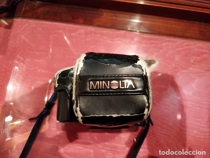 Cámara de fotos: Cámara fotográfica Minolta 7000. Con funda protectora desgastada. - Foto 2 - 40353641