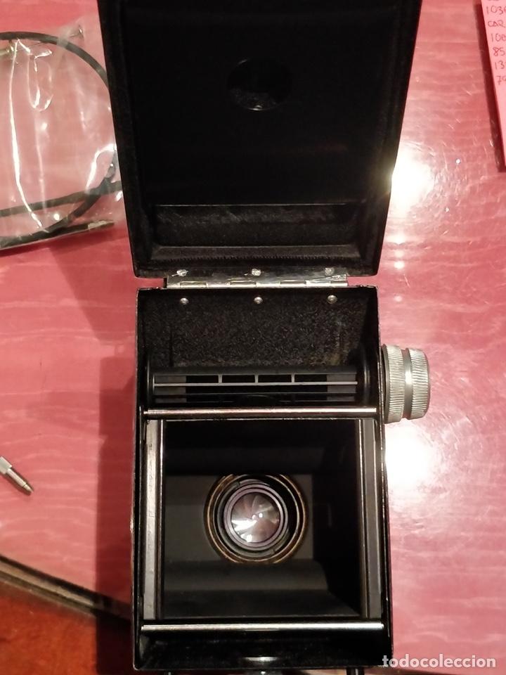 Cámara de fotos: Cámara fotográfica alemana Flexora Lipca, en buen estado, con funda, caja original y disparadores. - Foto 17 - 42412431