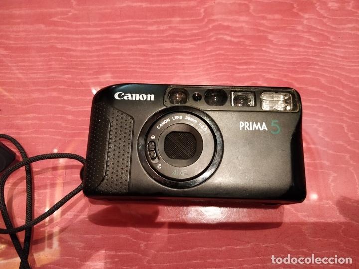 Cámara de fotos: Lote 3 cámaras. Samsung FINO 40s, KODAK EasyLoad 35 y CANON Prima 5 - Foto 12 - 111102943
