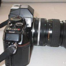 Cámara de fotos: NIKON F301 REFLEX. Lote 142832502