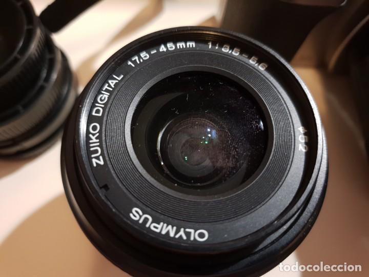 Cámara de fotos: maquina de fotos reflex olimpus,esta nueva.modelo E-500,tripode y otro lente aparte - Foto 5 - 143852166