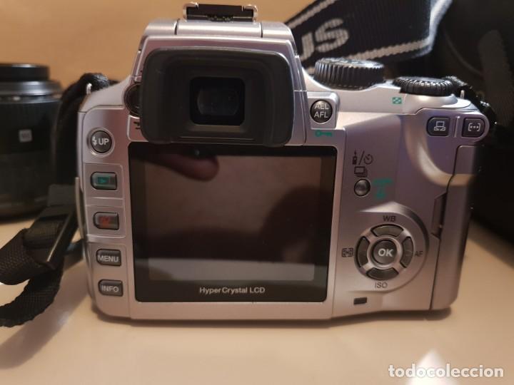 Cámara de fotos: maquina de fotos reflex olimpus,esta nueva.modelo E-500,tripode y otro lente aparte - Foto 7 - 143852166