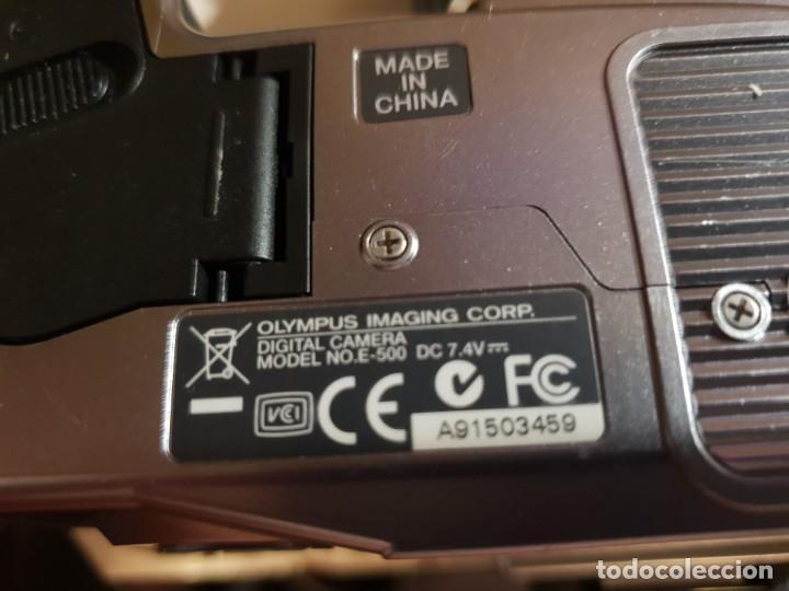 Cámara de fotos: maquina de fotos reflex olimpus,esta nueva.modelo E-500,tripode y otro lente aparte - Foto 11 - 143852166