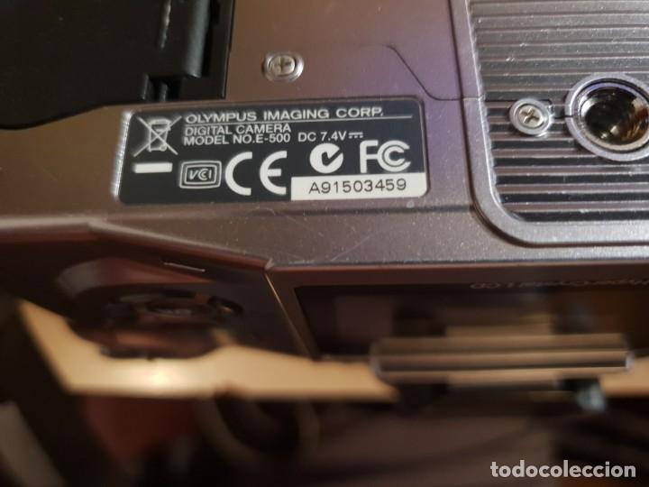 Cámara de fotos: maquina de fotos reflex olimpus,esta nueva.modelo E-500,tripode y otro lente aparte - Foto 12 - 143852166
