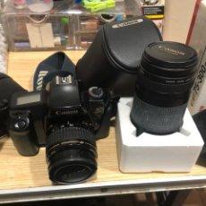 Cámara de fotos - Cámara de fotos Canon ultrasonic más complementos, prácticamente nueva - 144057389