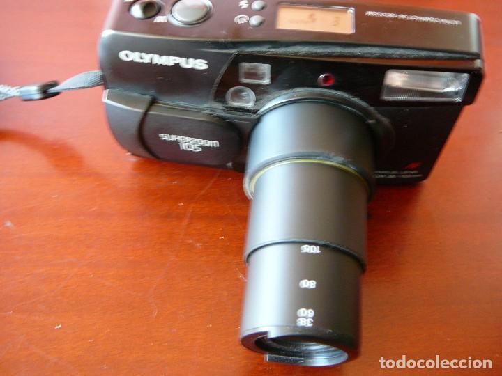 Cámara de fotos: Olympus Zoom 115 - Foto 3 - 144086346