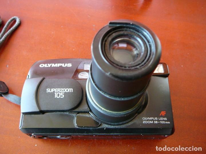 Cámara de fotos: Olympus Zoom 115 - Foto 4 - 144086346
