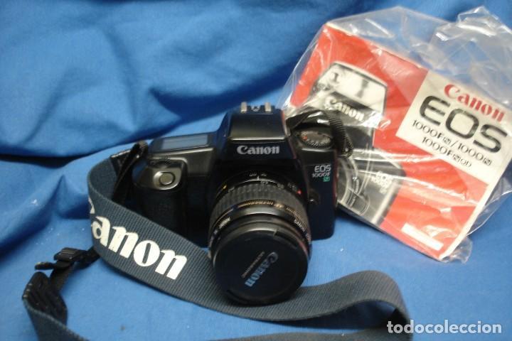 - CÁMARA DE FOTOS CANON EOS 1000F + OBJETIVO ZOOM CANON 35/80 MM (Cámaras Fotográficas - Réflex (autofoco))