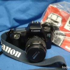 Cámara de fotos: - CÁMARA DE FOTOS CANON EOS 1000F + OBJETIVO ZOOM CANON 35/80 MM. Lote 144156198