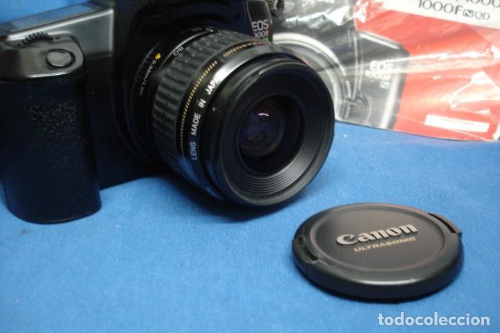 Cámara de fotos: - CÁMARA DE FOTOS CANON EOS 1000F + OBJETIVO ZOOM CANON 35/80 mm - Foto 2 - 144156198