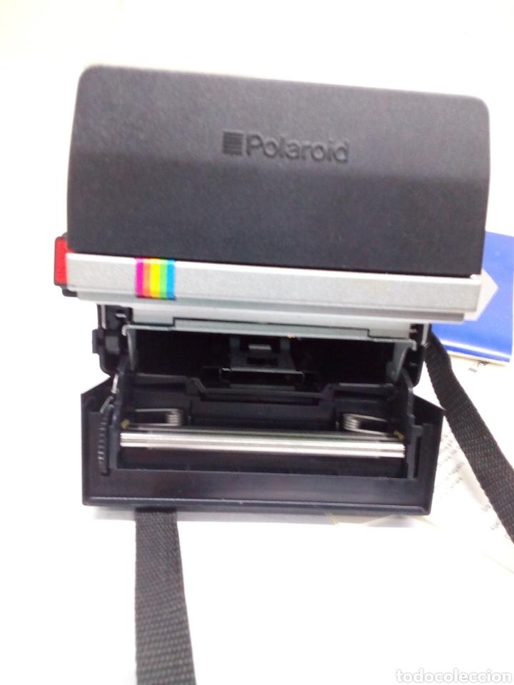 Cámara de fotos: Camara Polaroid Supercolor 635 en su caja con instrucciones año 1989 - Foto 2 - 144461889