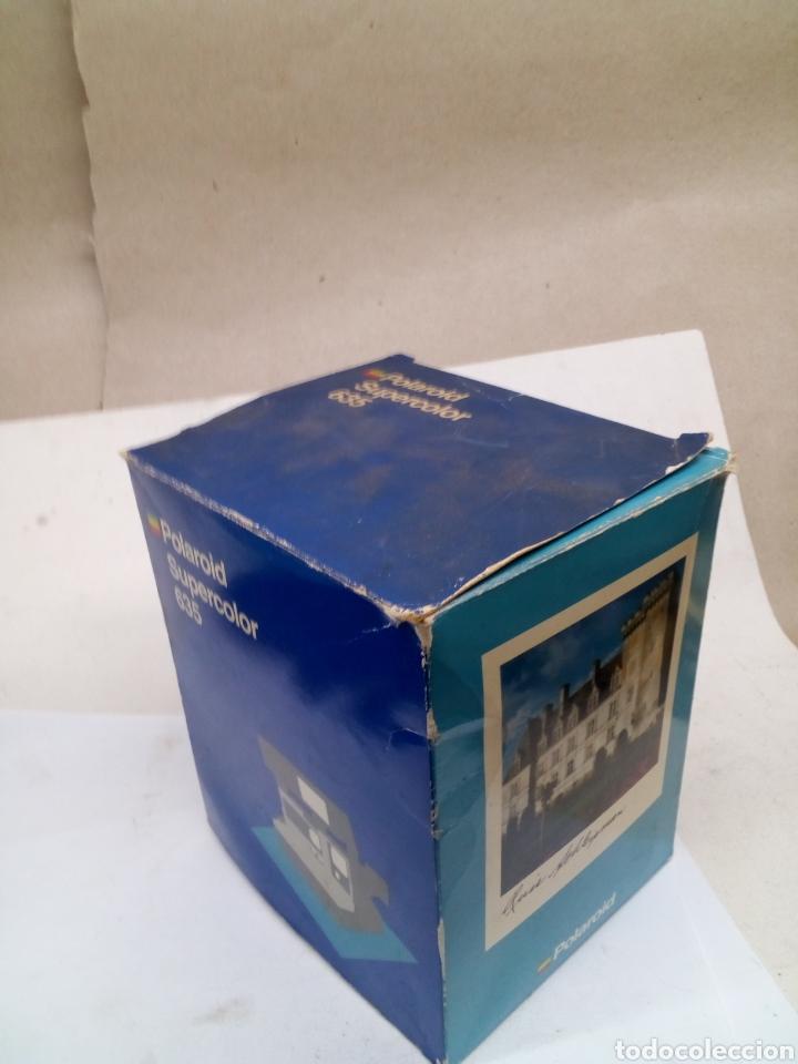 Cámara de fotos: Camara Polaroid Supercolor 635 en su caja con instrucciones año 1989 - Foto 4 - 144461889