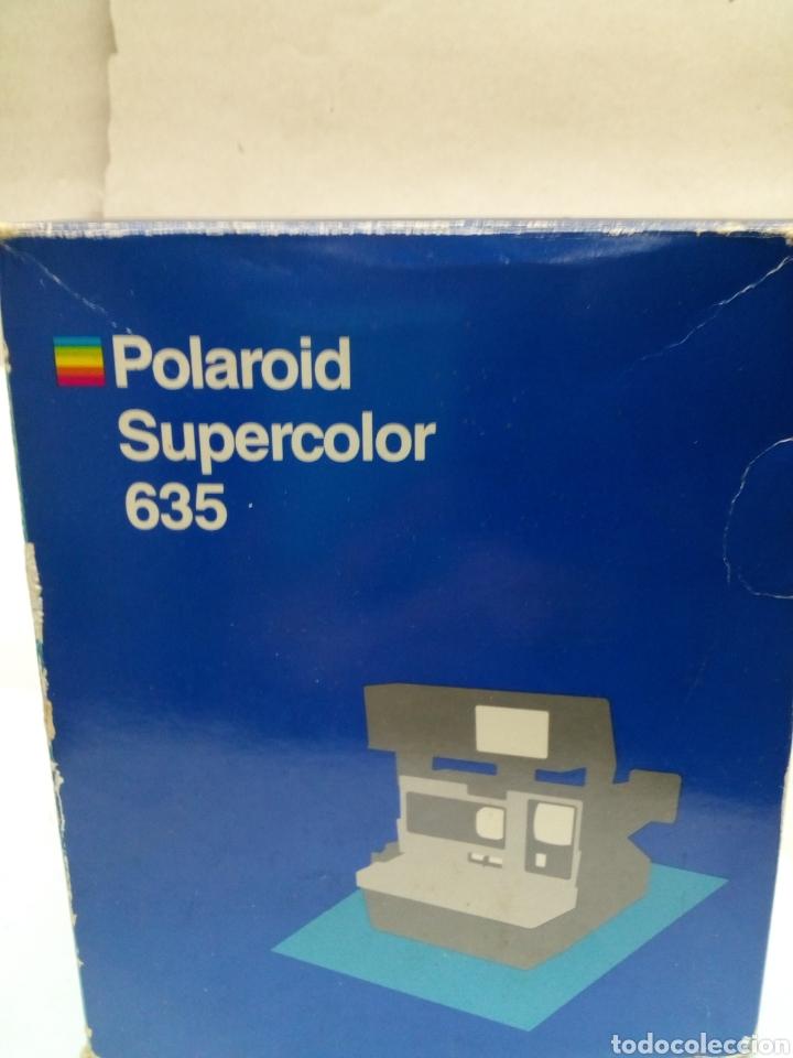 Cámara de fotos: Camara Polaroid Supercolor 635 en su caja con instrucciones año 1989 - Foto 5 - 144461889
