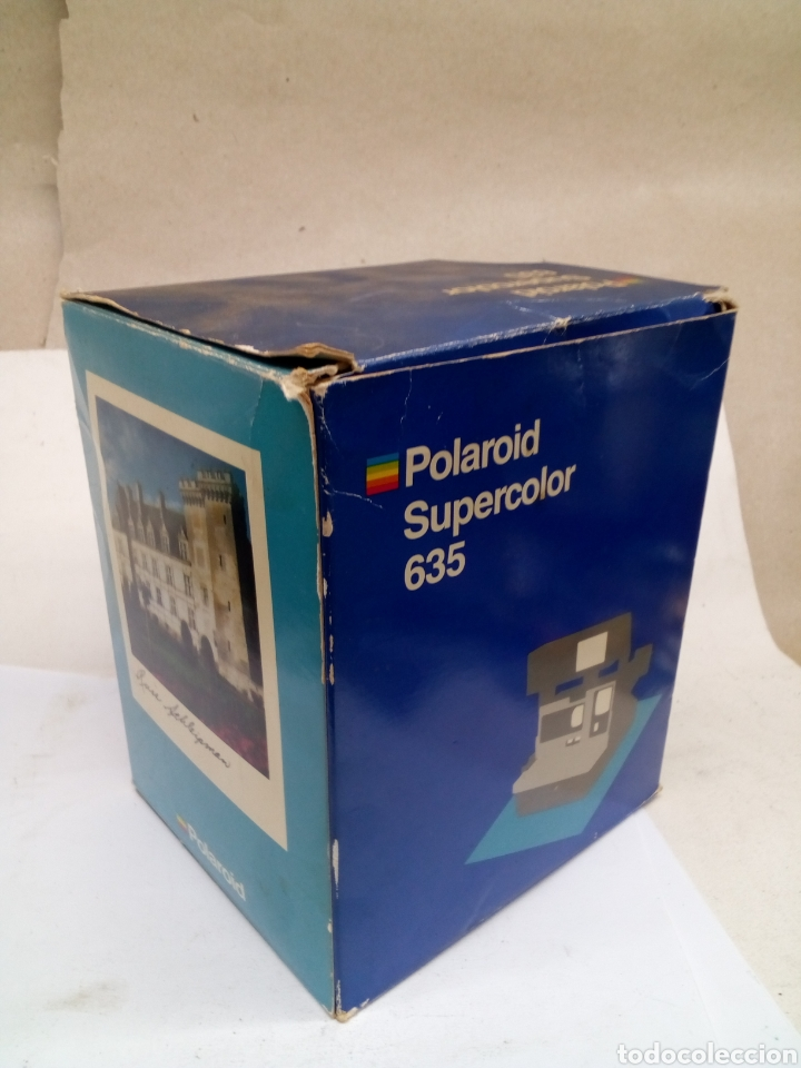 Cámara de fotos: Camara Polaroid Supercolor 635 en su caja con instrucciones año 1989 - Foto 6 - 144461889