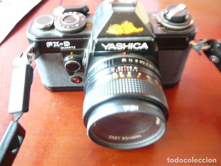 YASHICA FX-D QUARZT (Cámaras Fotográficas - Réflex (autofoco))