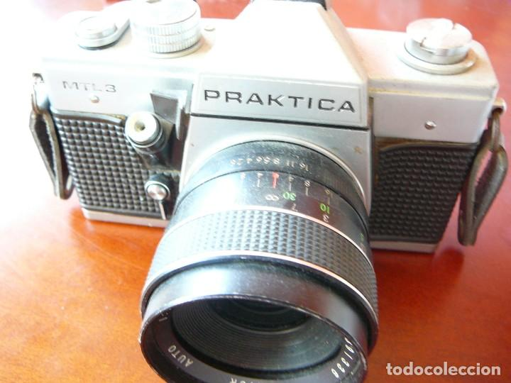 Praktica mtl mm film camera with carl zeiss jena mm f lens