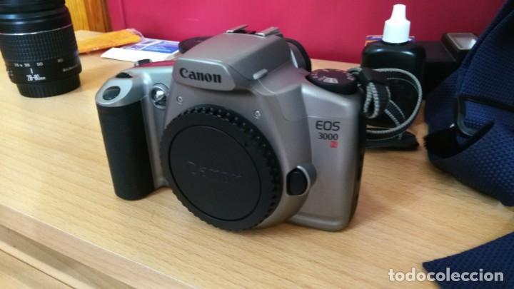 Cámara de fotos: EXCELENTE LOTE CANON EOS 3000N CON CANON ZOOM 28-80 mm- Regalo 75-300mm, Y MAS COSAS - Foto 6 - 146542454