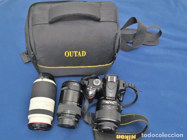 Cámara de fotos: Nikon D3200 mas 2 Objetivos y Bolsa (ver Descripcion) - Foto 11 - 147350926