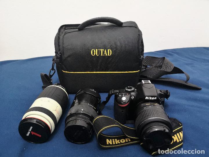 Cámara de fotos: Nikon D3200 mas 2 Objetivos y Bolsa (ver Descripcion) - Foto 12 - 147350926