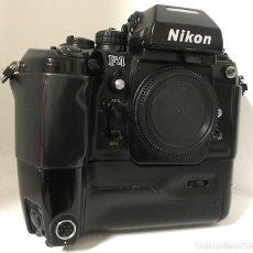 Cámara de fotos: NIKON F4 CON MOTOR DE ARRASTRE. Lote 147531541