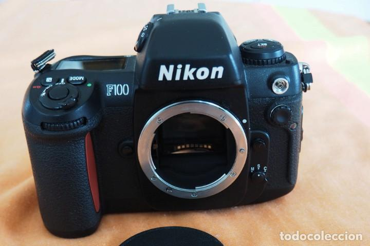 CAMARA FOTOGRAFICA NIKON F 100 ANALOGICA (Cámaras Fotográficas - Réflex (autofoco))