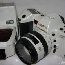 Cámara de fotos: MINOLTA DYNAX 8000I WHITE PERLA. Lote 148110394