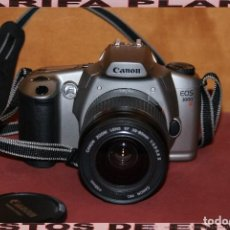 Cámara de fotos: CAMARA DE FOTOS ANALOGICA REFLEX CANON EOS 3000 CON OBJETIVO 28 - 80 1: 3.5 - 5.6 USADA TAL Y COMO. Lote 148707630