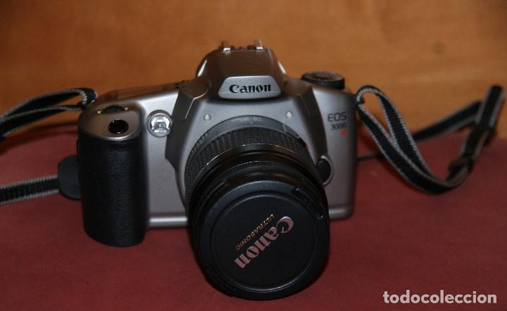 Cámara de fotos: CAMARA DE FOTOS ANALOGICA REFLEX CANON EOS 3000 CON OBJETIVO 28 - 80 1: 3.5 - 5.6 USADA TAL Y COMO - Foto 2 - 148707630