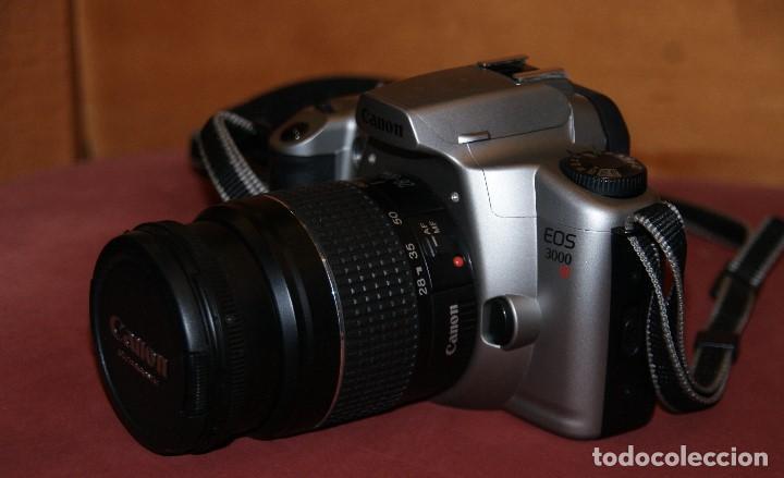 Cámara de fotos: CAMARA DE FOTOS ANALOGICA REFLEX CANON EOS 3000 CON OBJETIVO 28 - 80 1: 3.5 - 5.6 USADA TAL Y COMO - Foto 3 - 148707630