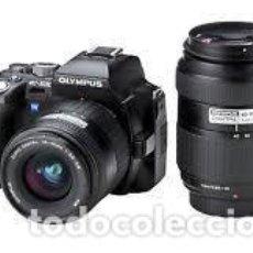 Cámara de fotos: OLYMPUS E-500 (KIT 14/45 + 40/150). Lote 148747826