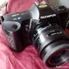 Cámara de fotos: CAMARA DE FOTOS 35 MM OLYMPUS OM88 + OBJETIVO 35-70 MM. Lote 149028854