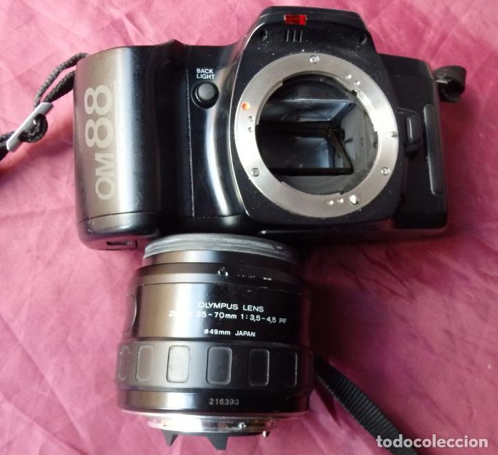 Cámara de fotos: CAMARA DE FOTOS 35 mm OLYMPUS OM88 + OBJETIVO 35-70 mm - Foto 2 - 149028854